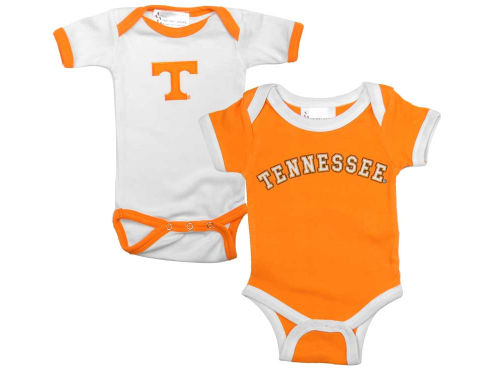 Tennessee Volunteers NCAA Infant 2 Pack Conrtrast Creeper
