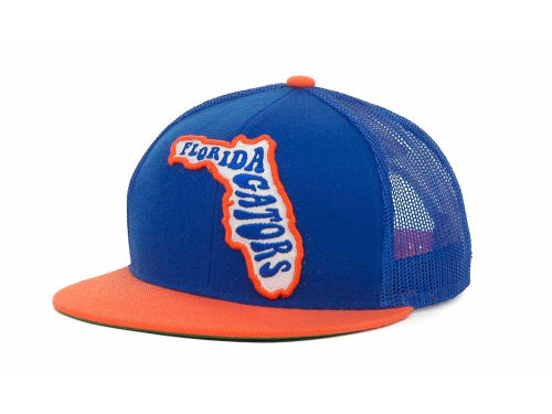 Florida Gators Top of the World NCAA In State Campus Mesh Cap Hats