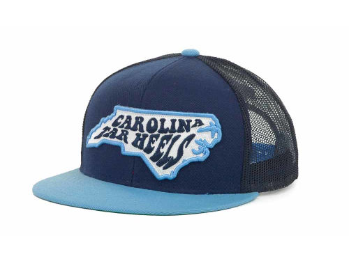 North Carolina Tar Heels Top of the World NCAA In State Campus Mesh Cap Hats