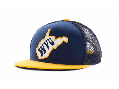 West Virginia Mountaineers Top of the World NCAA In State Campus Mesh Cap Hats