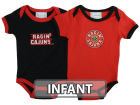 Louisiana Lafayette Ragin Cajuns NCAA Infant 2 Pack Conrtrast Creeper Infant Apparel