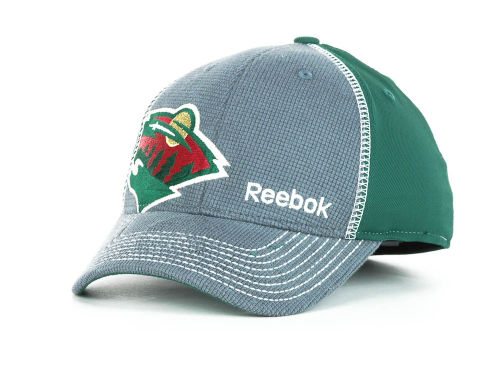 Minnesota Wild Reebok NHL Kids Draft 2012 Cap Hats