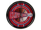 Los Angeles Clippers Chrome Clock Bed & Bath