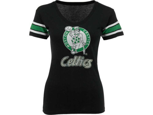 Boston Celtics '47 Brand NBA Womens Off Campus Scoop T-Shirt