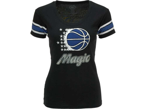 Orlando Magic '47 Brand NBA Womens Off Campus Scoop T-Shirt