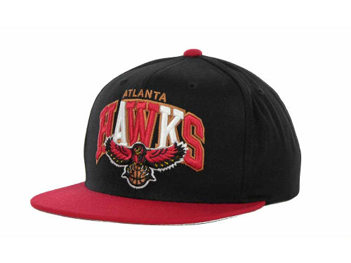 Atlanta Hawks Mitchell and Ness NBA Hardwood Classics Tri-Pop Snapback Cap Hats
