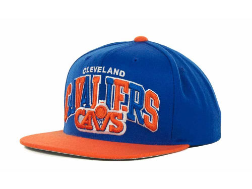Cleveland Cavaliers Mitchell and Ness NBA Hardwood Classics Tri-Pop Snapback Cap Hats