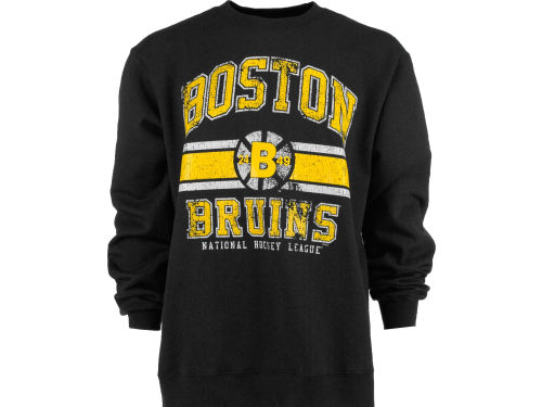 Boston Bruins NHL Retro Fleece Crew