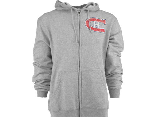 Montreal Canadiens NHL Better Vintage Logo Full Zip Hoodie