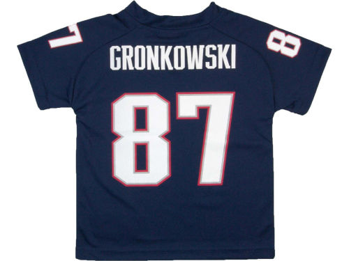 New England Patriots GRONKOWSKI Outerstuff NFL Youth Fashion Performance T-Shirt