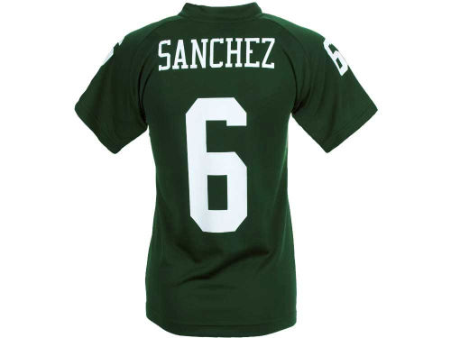 New York Jets Mark Sanchez Outerstuff NFL Youth Fashion Performance T-Shirt