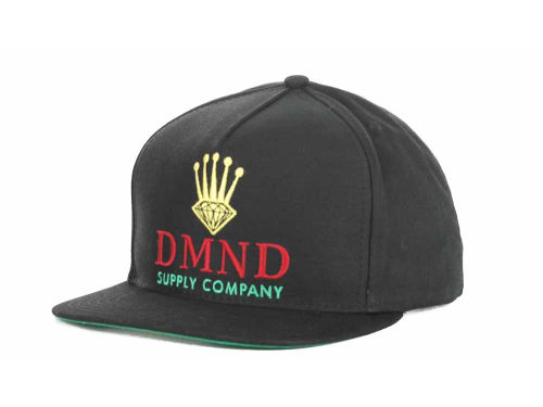 Diamond Crown Snapback Cap  Hats