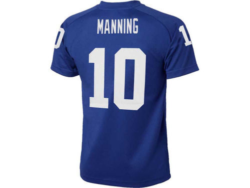 New York Giants MANNING Outerstuff NFL Youth Fashion Performance T-Shirt