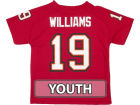 Tampa Bay Buccaneers WILLIAMS Outerstuff NFL Youth Fashion Performance T-Shirt T-Shirts