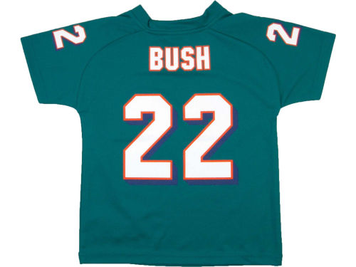 Miami Dolphins BUSH Outerstuff NFL Youth Fashion Performance T-Shirt