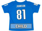 Detroit Lions JOHNSON Outerstuff NFL Kids Fashion Performance T-Shirt T-Shirts