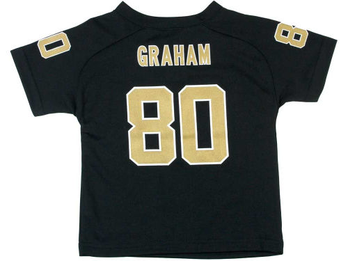 New Orleans Saints GRAHAM Outerstuff NFL Toddler Fashion Performance T-Shirt