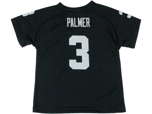 Oakland Raiders PALMER Outerstuff NFL Toddler Fashion Performance T-Shirt
