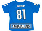 Detroit Lions JOHNSON Outerstuff NFL Toddler Fashion Performance T-Shirt Infant Apparel
