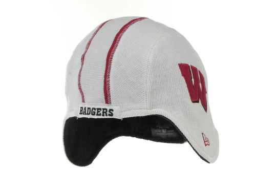 Wisconsin Badgers New Era NCAA Pigskin Knit Hats
