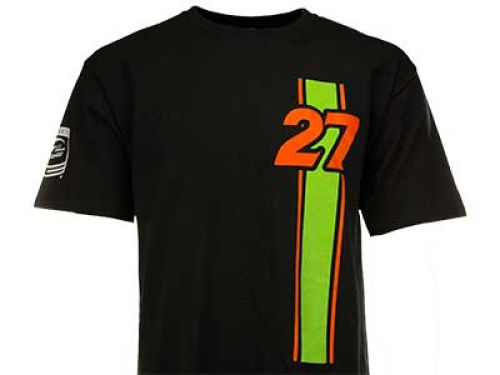 James Hinchcliffe Racing Mens Vert Stripe Driver T-Shirt