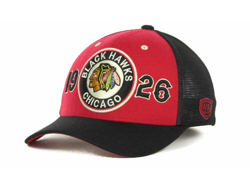 Chicago Blackhawks Old Time Hockey NHL Rodman Cap Hats