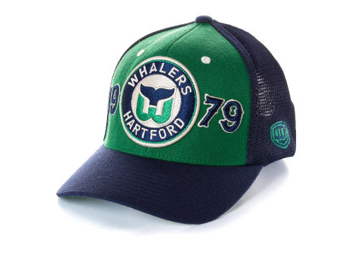 Hartford Whalers Old Time Hockey NHL Rodman Cap Hats