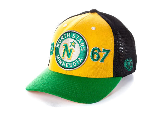 Minnesota North Stars Old Time Hockey NHL Rodman Cap Hats