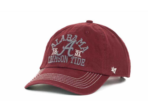 Alabama Crimson Tide '47 Brand NCAA Longview Relaxed Snapback Cap Hats