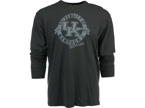 Kentucky Wildcats '47 Brand NCAA Long Sleeve Scrum T-Shirt