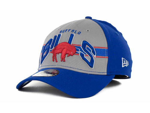 Buffalo Bills New Era NFL Tri Band 39THIRTY Hats