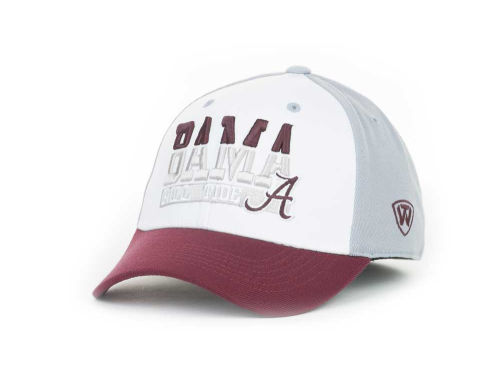 Alabama Crimson Tide Top of the World NCAA The Break-Up 1 Fit Cap Hats