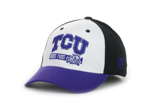 Texas Christian Horned Frogs Top of the World NCAA The Break-Up 1 Fit Cap Hats
