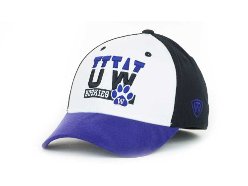 Washington Huskies Top of the World NCAA The Break-Up 1 Fit Cap Hats