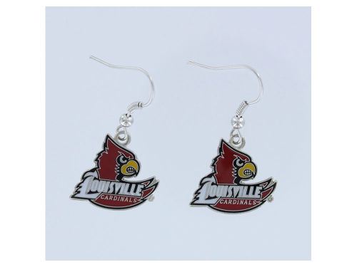 Louisville Cardinals Logo Earrings