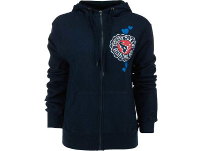 Houston Texans NFL Womens Full Zip Brushed Fleece