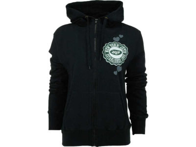 New York Jets NFL Womens Full Zip Brushed Fleece