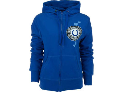 Indianapolis Colts NFL Womens Full Zip Brushed Fleece