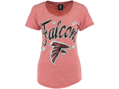 Atlanta Falcons NFL Womens Tri-Blend Jersey Scoop