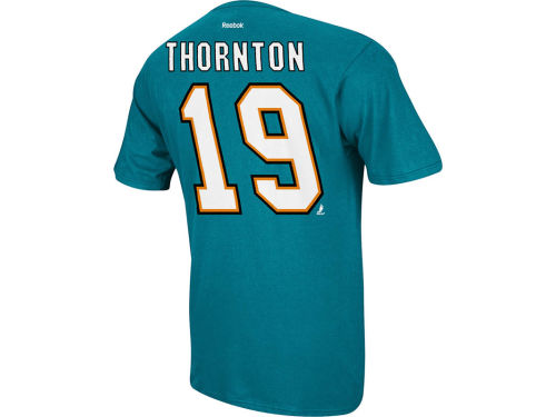 San Jose Sharks Thornton NHL Player T-Shirt