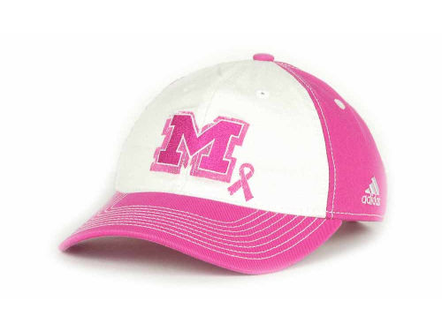 Michigan Wolverines adidas NCAA BCA Womens Adjustable 2012 Cap Hats