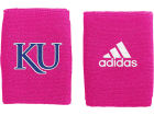 Kansas Jayhawks adidas Adidas BCA 4 Inch Wristbands 2012 Apparel & Accessories