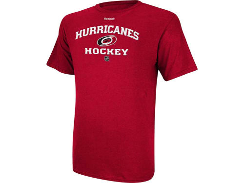 Carolina Hurricanes Reebok NHL CI Authentic Team T-Shirt