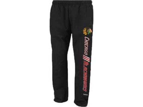 Chicago Blackhawks Reebok NHL Stride Fleece Pants