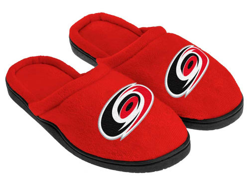 Carolina Hurricanes Forever Collectibles Cupped Sole Slippers