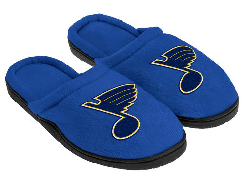 St. Louis Blues Forever Collectibles Cupped Sole Slippers