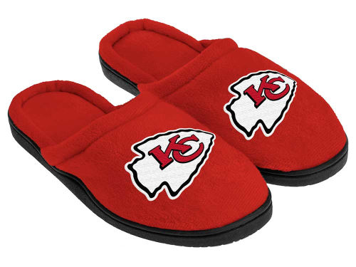 Kansas City Chiefs Forever Collectibles Cupped Sole Slippers