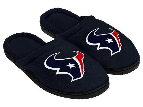 Houston Texans Cupped Sole Slippers
