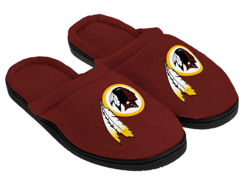 Washington Redskins Forever Collectibles Cupped Sole Slippers