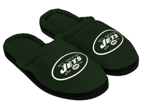 New York Jets Forever Collectibles Cupped Sole Slippers